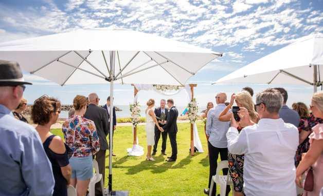 Adelaide Sailing Club Wedding