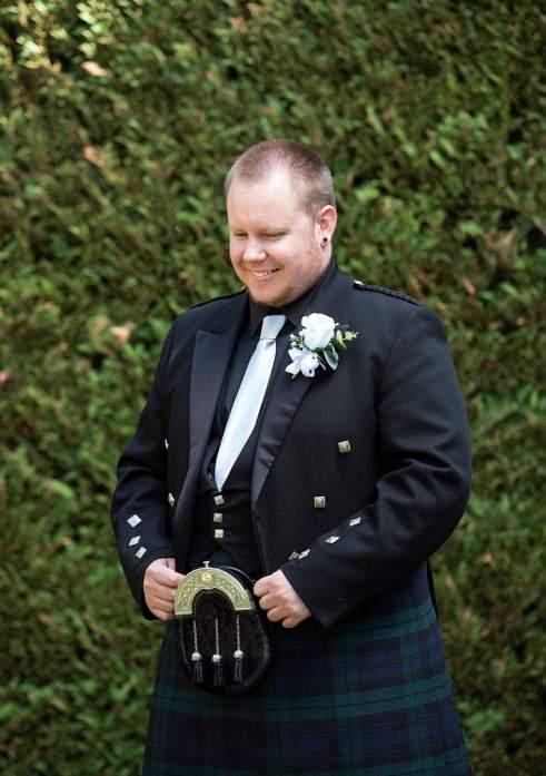Waiting groom