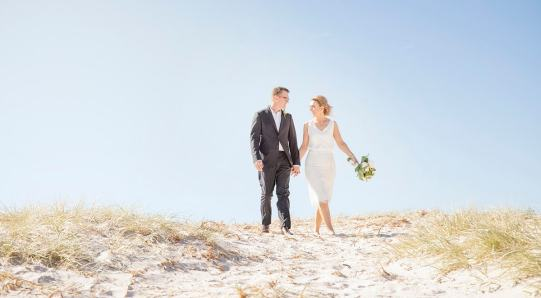 Walking amongst the dunes