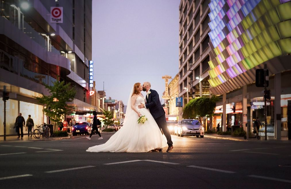 End of Rundle Mall