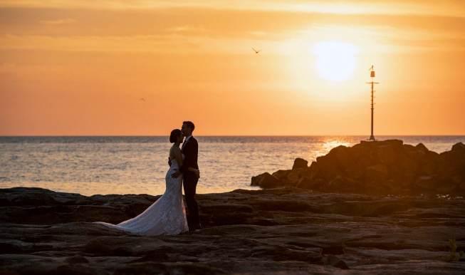 Nightcliff wedding sunset