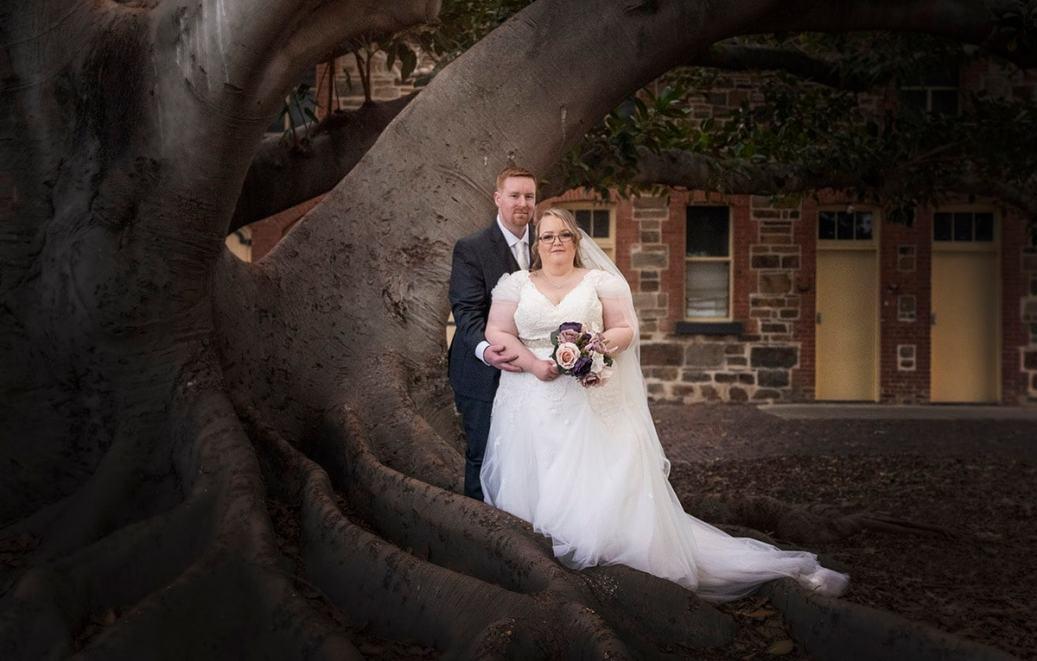 Under the Glanville Hall tree
