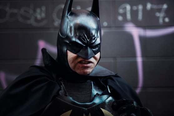 Angry batman