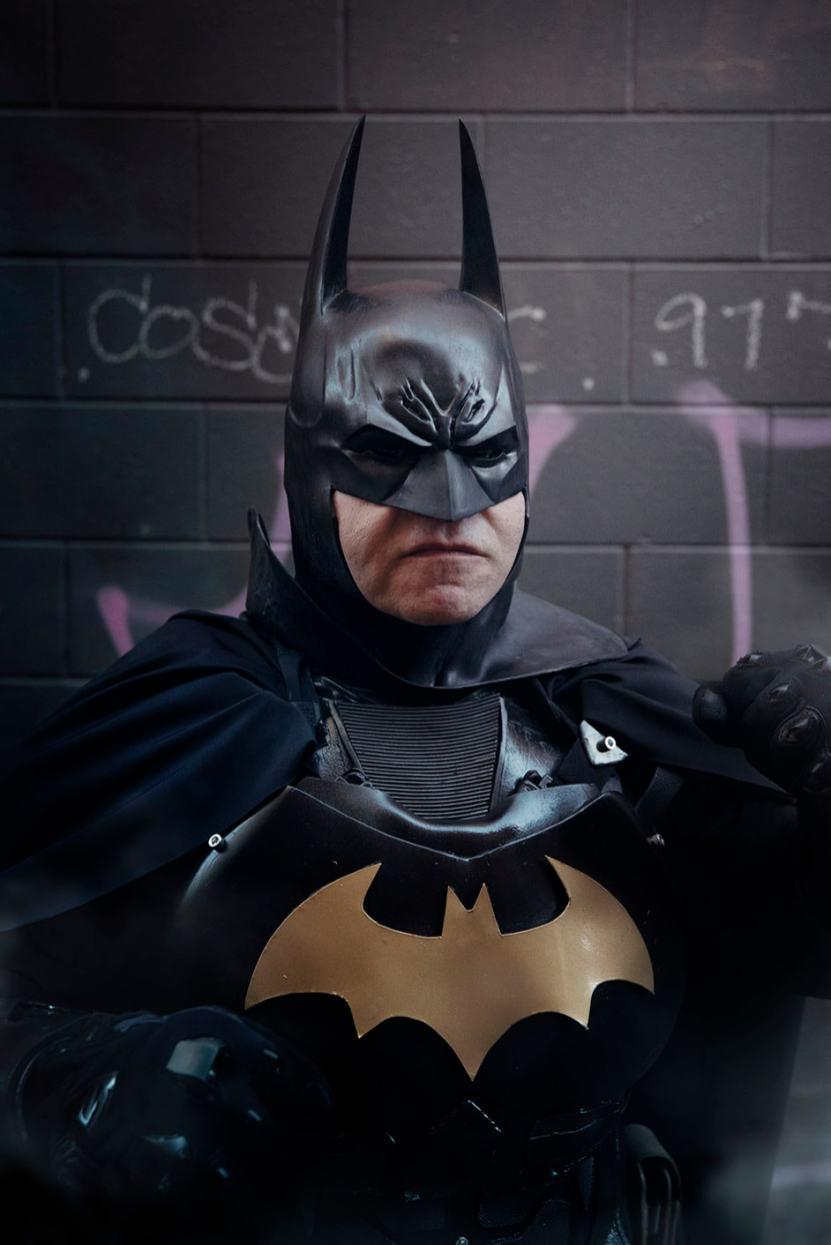 Batman cosplay portrait