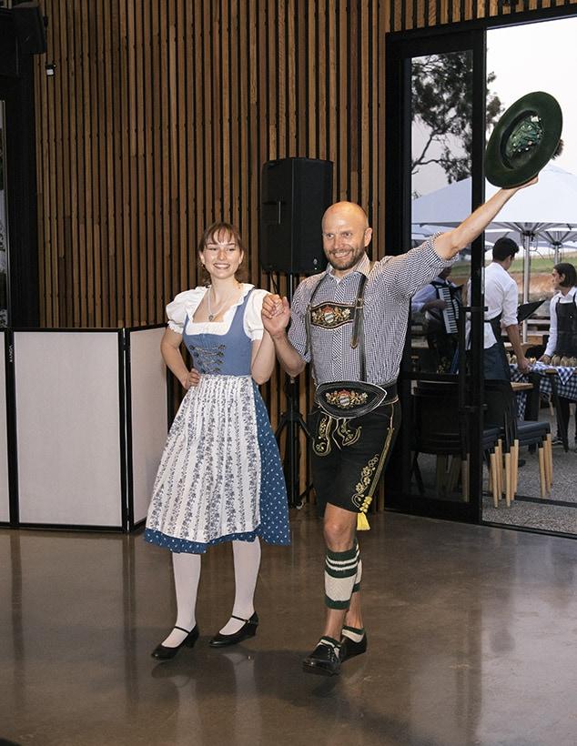 German dancers