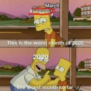worst month of 2020 so far