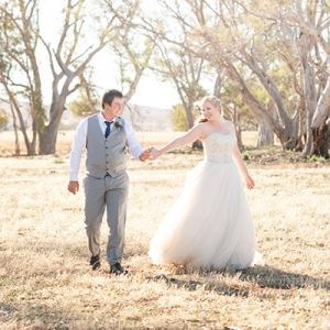 Sedan Lutheran Church Wedding - Kirsty Andrew