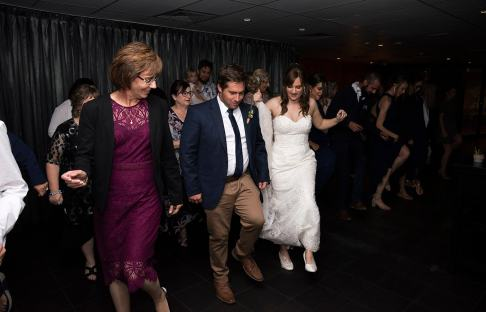 Nutbush at wedding