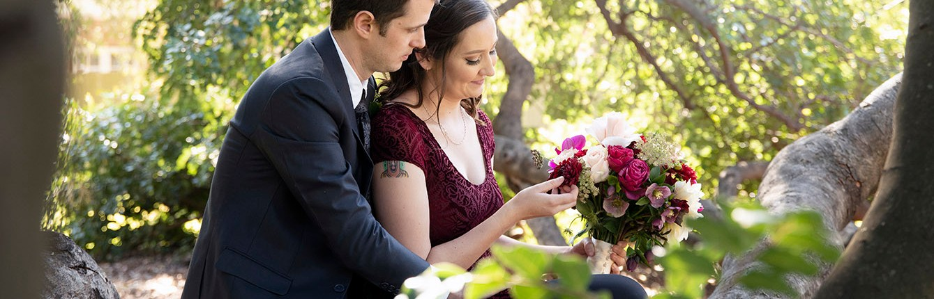 St Helens Park wedding photo