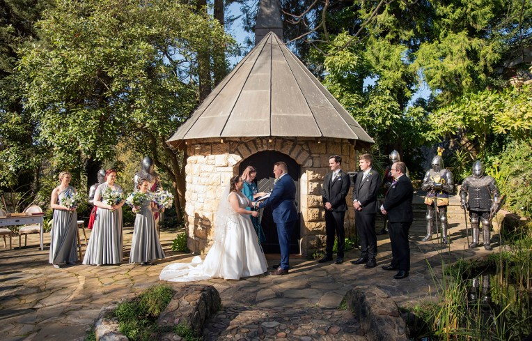 The Manor Basket Range wedding ceremony 2