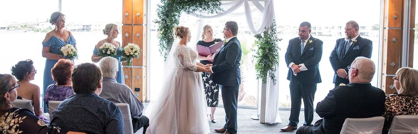 The Lakes Hotel Wedding Ceremony