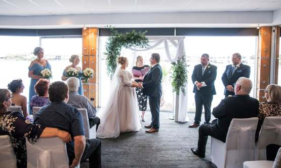 The Lakes Hotel Wedding Ceremony