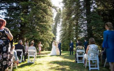Wedding cermeony at the Adelaide Botanic Gardens 3
