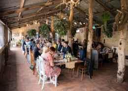 Ivybrook farm wedding reception