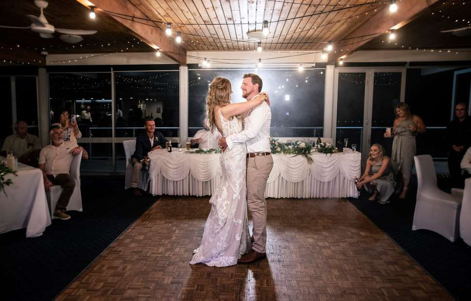 Brighton and seacliff yacht club first dance