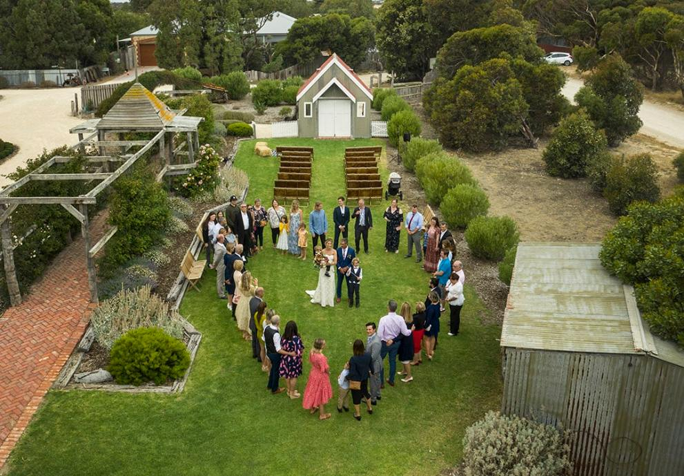Crabtree Farm wedding Goolwa