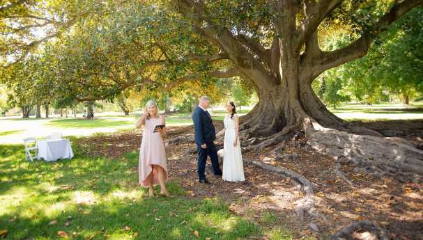 Botanic Park Wedding Ceremony
