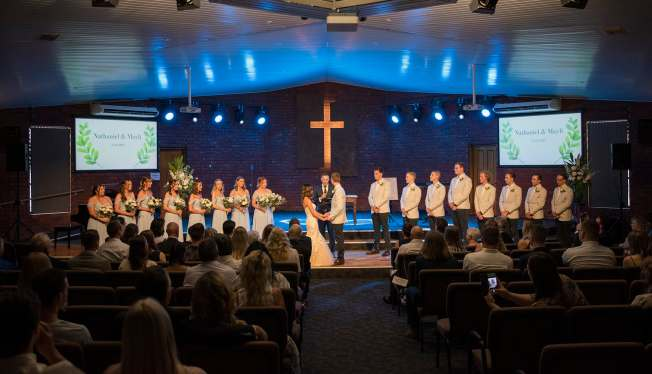 Morphett Vale Church Wedding Ceremony