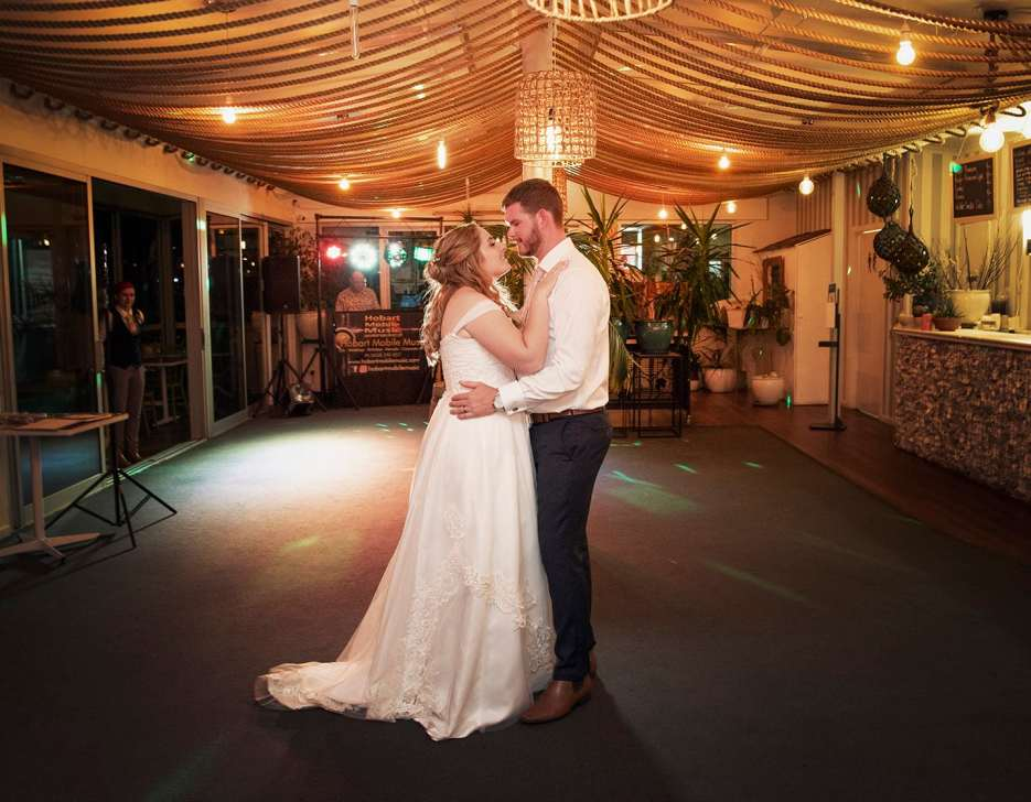 First dance at Seagrass Long Point wedding