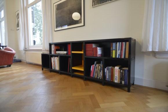 Quadrat design boekenkast