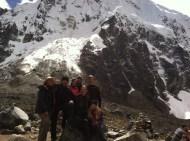 We did it! At the highest altitude of the Salkantay trek, 4680 meters.