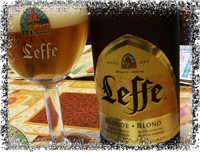 Birra Leffe Blonde Blond Anno 1240