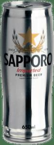 Birra Sapporo Silver Imported Premium Beer