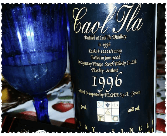 Caol Ila 1996 Signatory Vintage imported by Velier S.p.A.