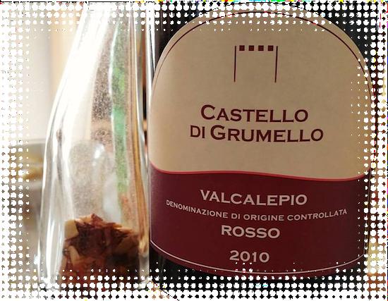 Valcalepio DOC Rosso 2010 Castello di Grumello