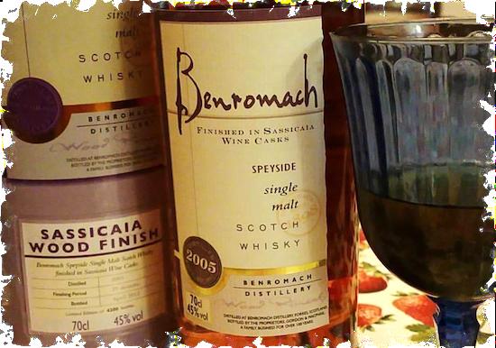 Benromach Sassicaia Wood Finish 2005 Speyside Single Malt Scotch Whisky