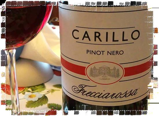 Carillo Pinot Nero Frecciarossa