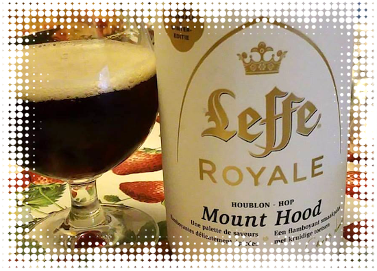 Birra Leffe Royale Mount Hood Winter Edition