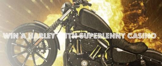 SuperLenny vinn en ny Harley Davidson