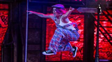 Gabriella Kaiser i Flashdance.