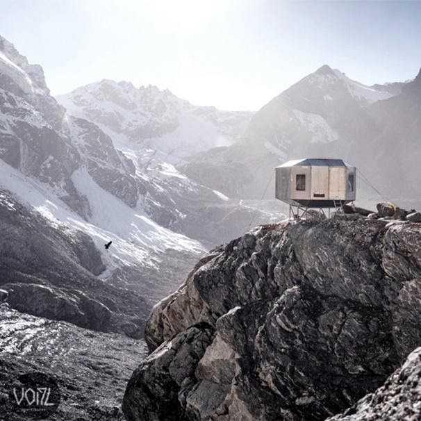 Новая высота для крепежа fischer.  Надежный бивак в Гималаях спасает альпинистов