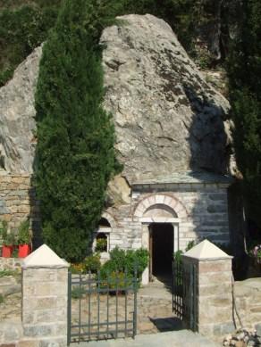 Simonopetra 051- Pećina Sv.Simona - 001