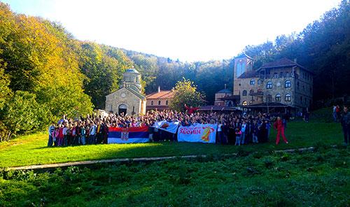 Са Светом Србијом на врху Космаја