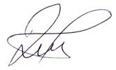 potpis predsednika PSD Sveta Srbija