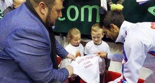 Деца Свете Србије спремила поклон за Новаковог Стефана