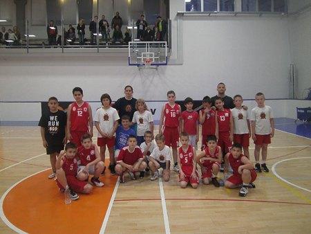 Мини баскет лига поново у спортском центру Динамик