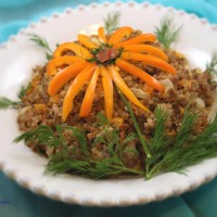 Buckwheat Porridge With Vegetables