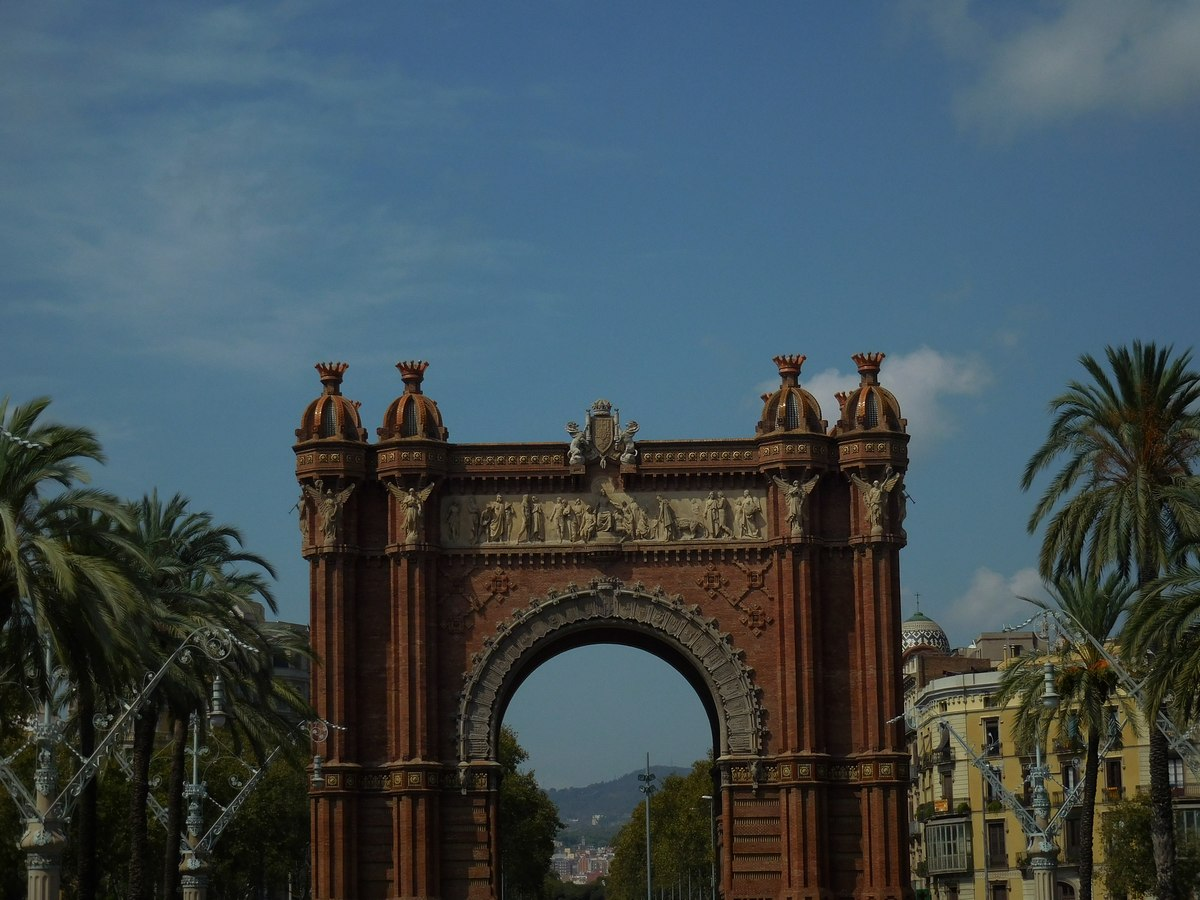 barcelona triumphal arch
