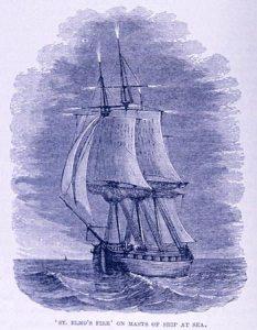 st erasmo fire on ship