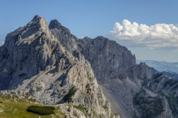 Bezimeni peak and Bobotov kuk seen from Planinica
