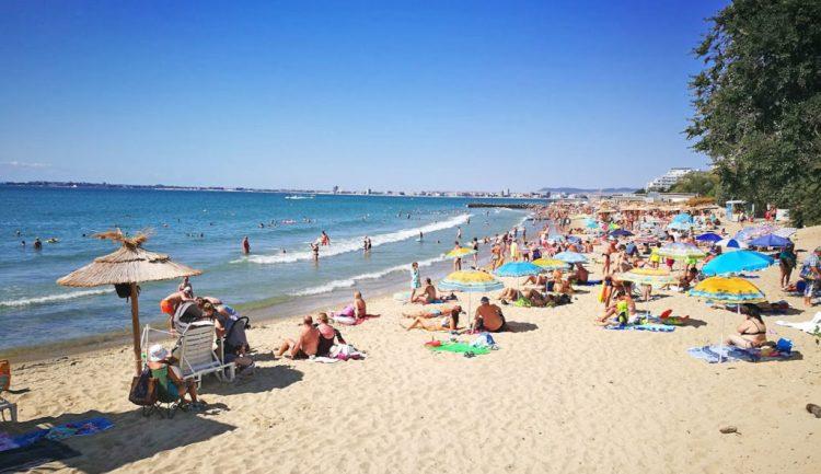 Центральный пляж Святого Власа Болгария