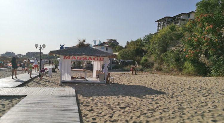 Пляж Святой Влас Болгария