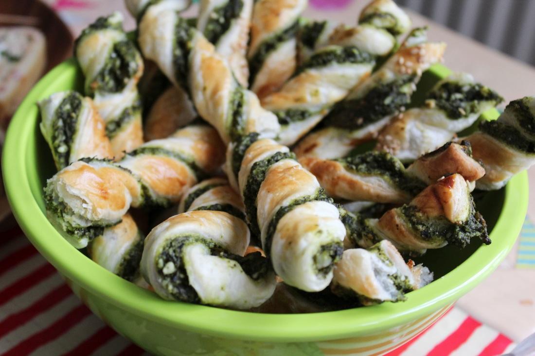 Spinat-Schafskäse-Stangen
