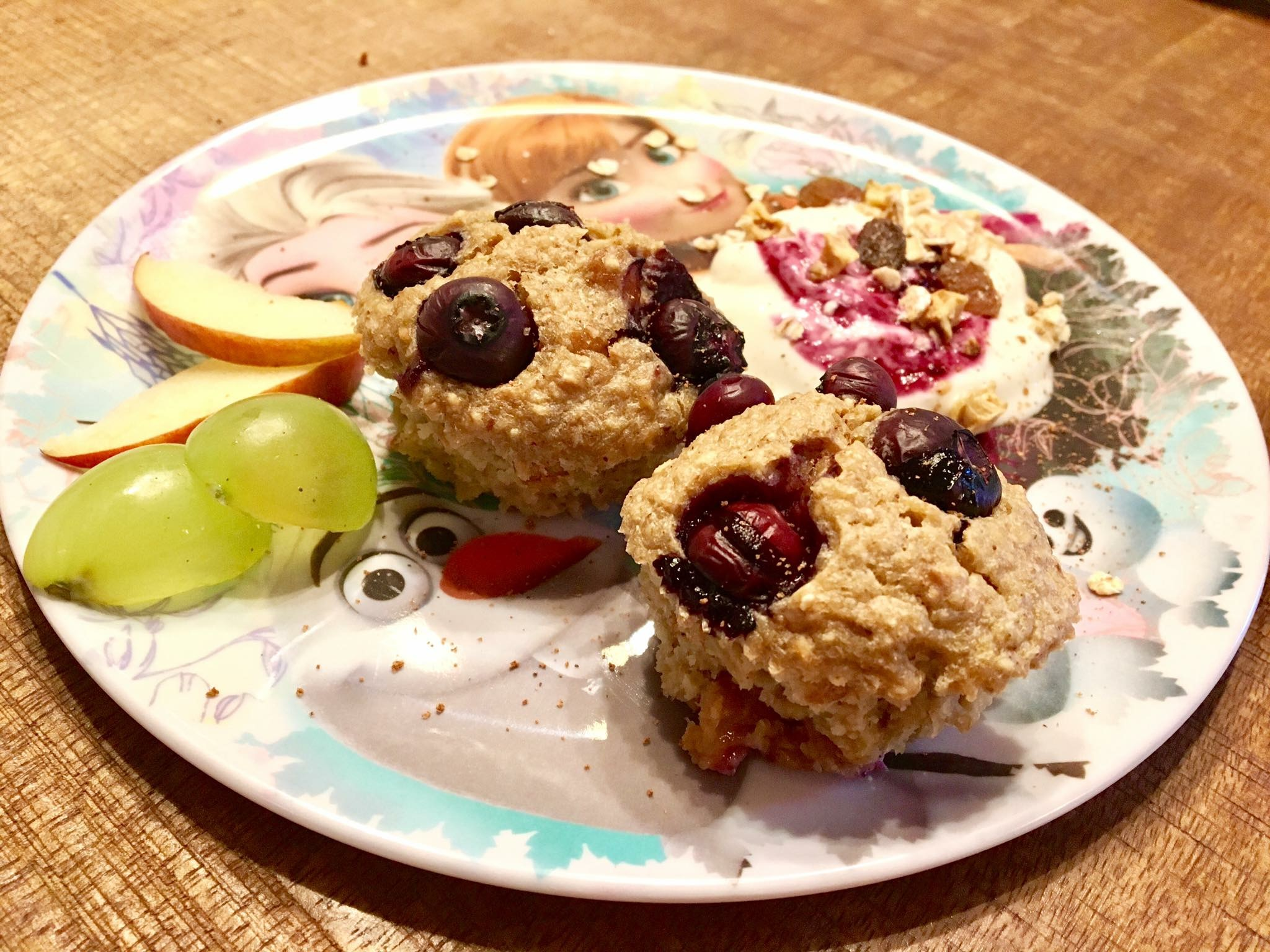 Birchermüsli Muffins