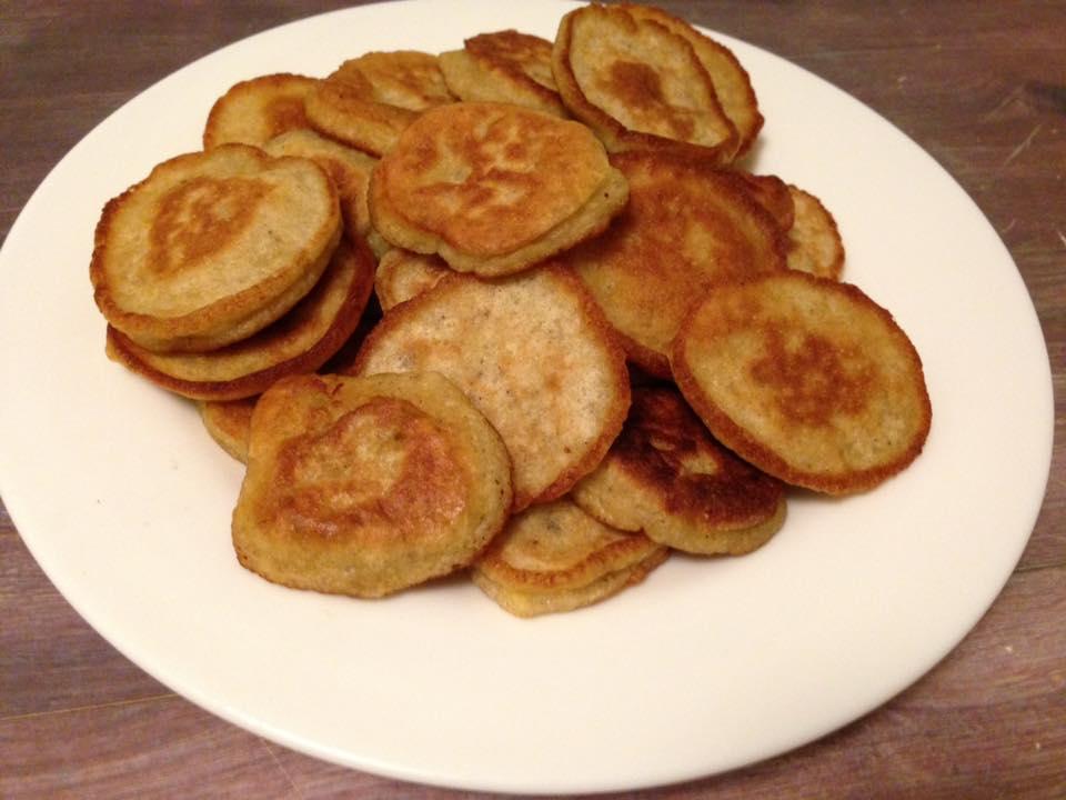Fluffige Bananenpancakes