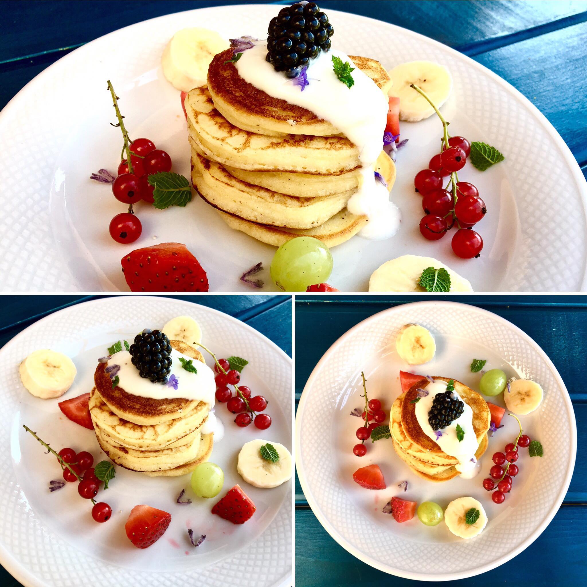 Glutenfreie Buttermilch-Vanille Pancakes